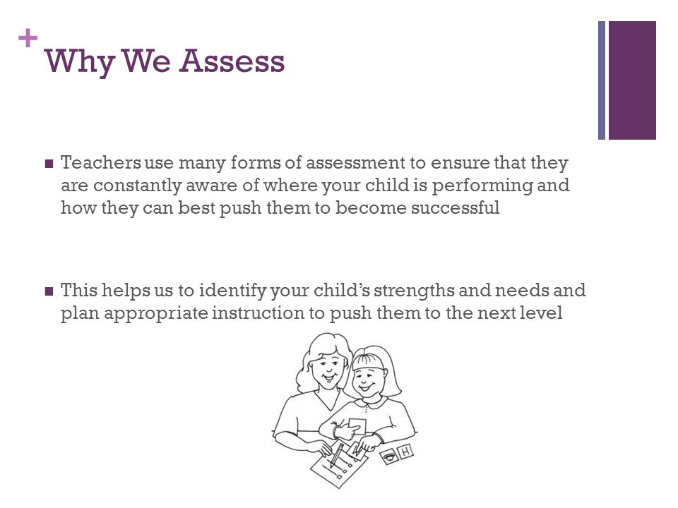 Why We Assess