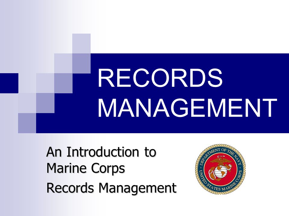marine corps time management