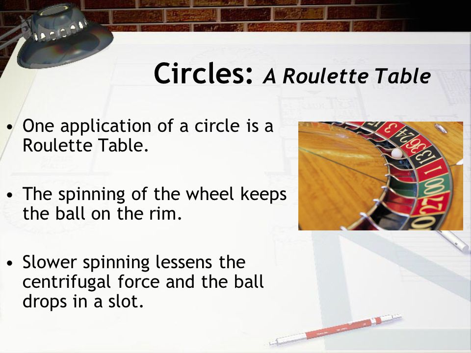 Circles: A Roulette Table