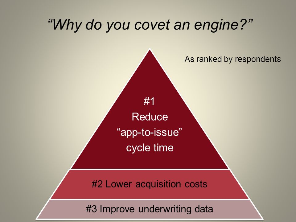 Why do you covet an engine