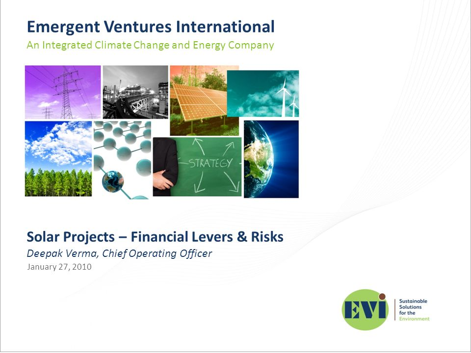 Emergent Ventures International