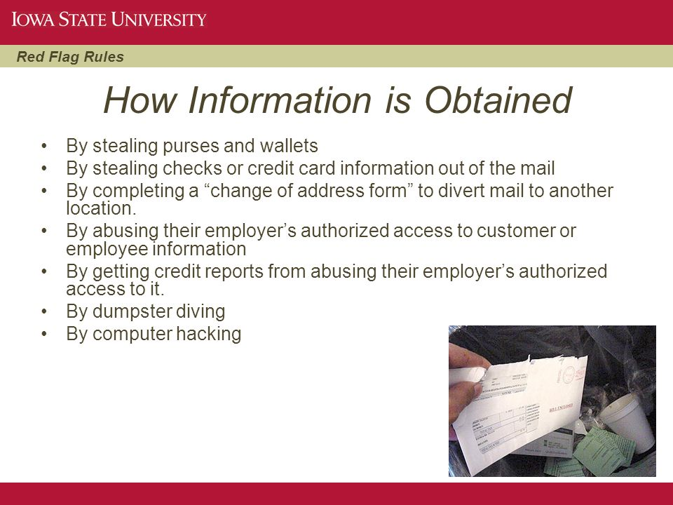 How Information is Obtained