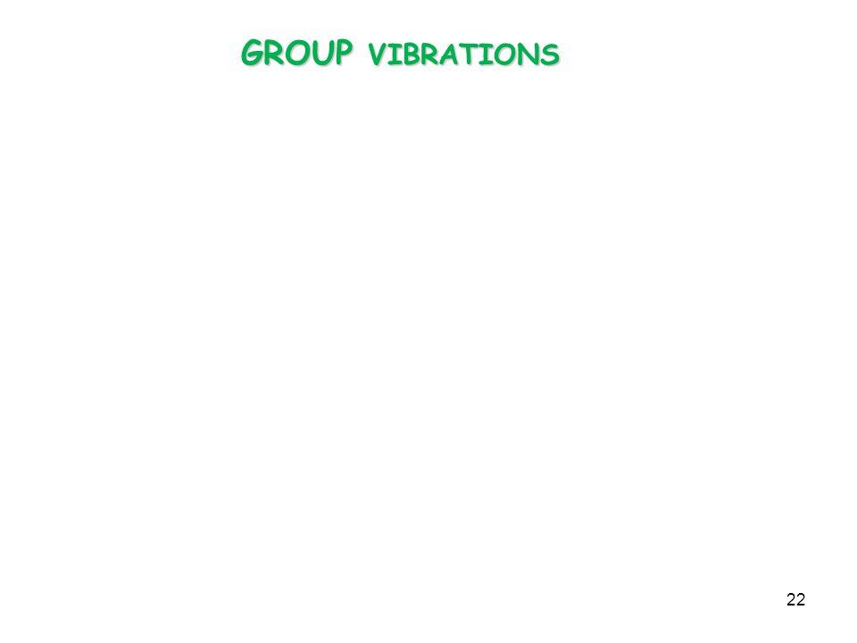 GROUP VIBRATIONS