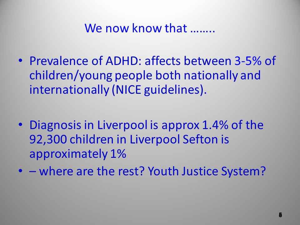 – where are the rest Youth Justice System