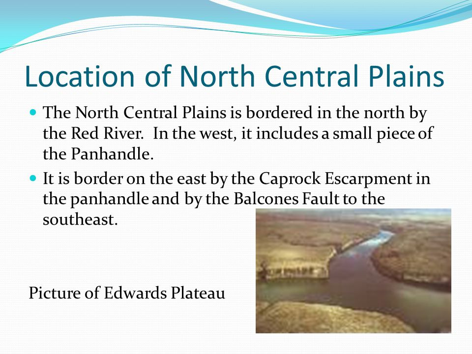 Location of North Central Plains