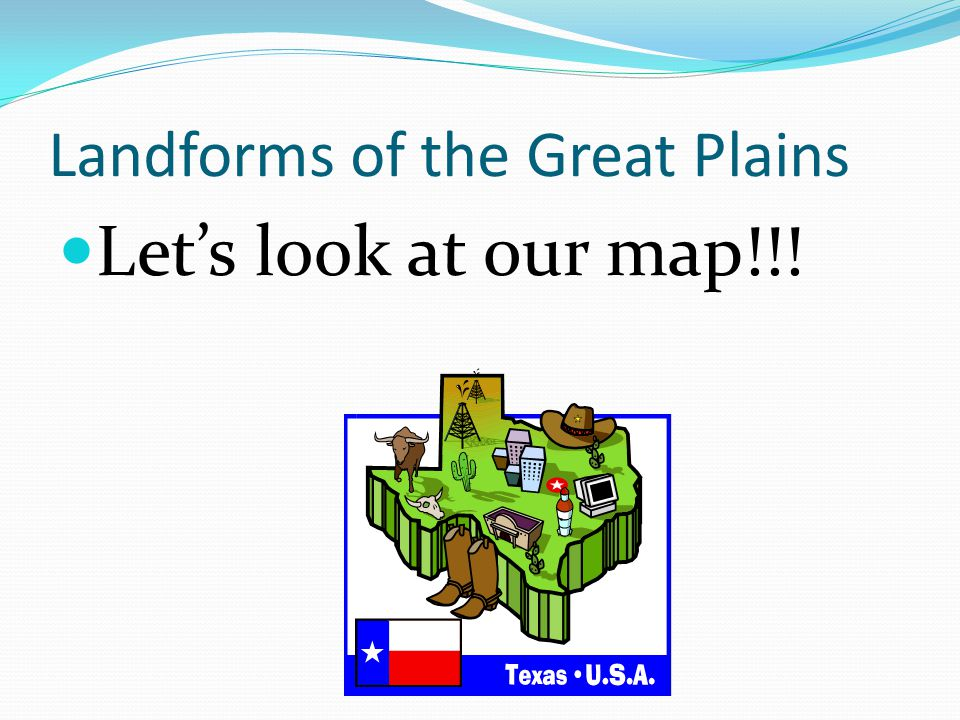 Landforms of the Great Plains