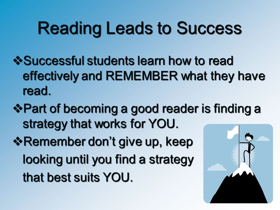 Reading Leads to Success
