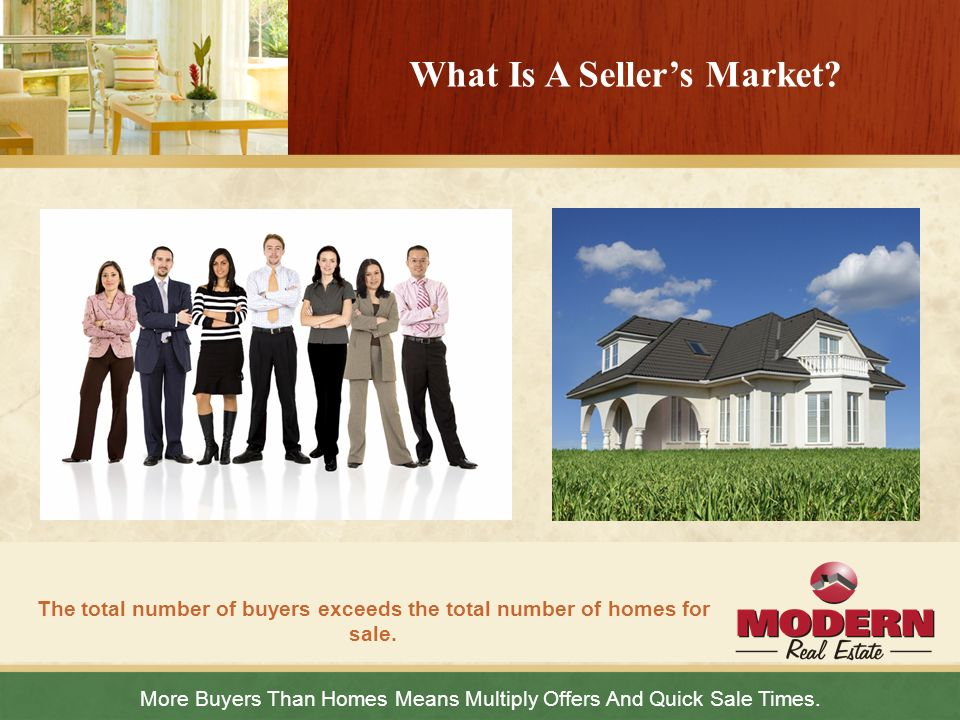What Is A Seller's Market
