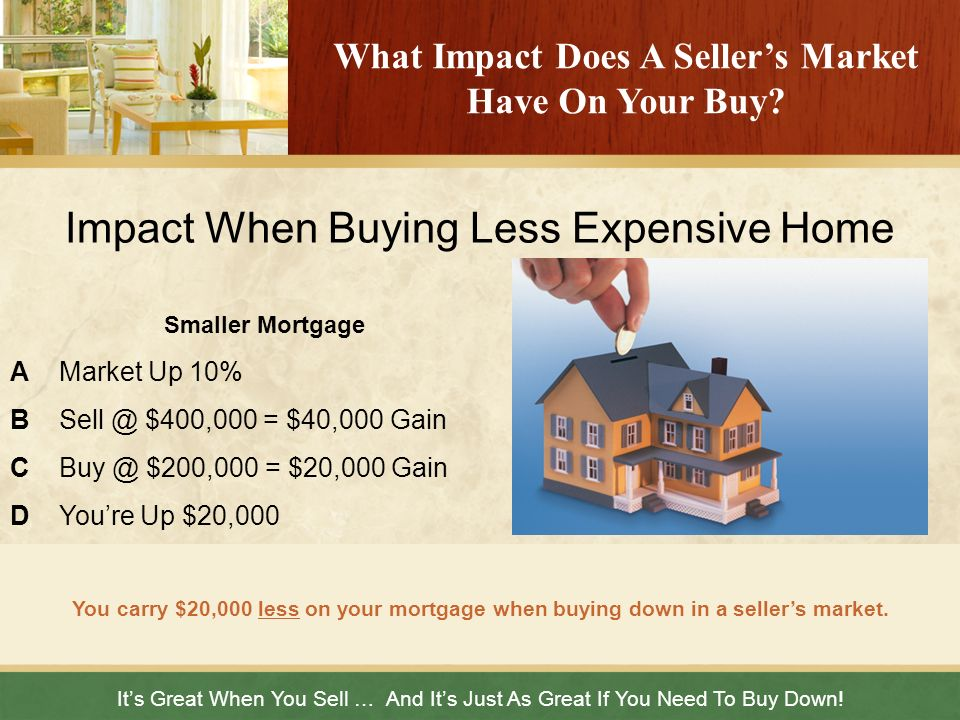 What Impact Does A Seller's Market Have On Your Buy