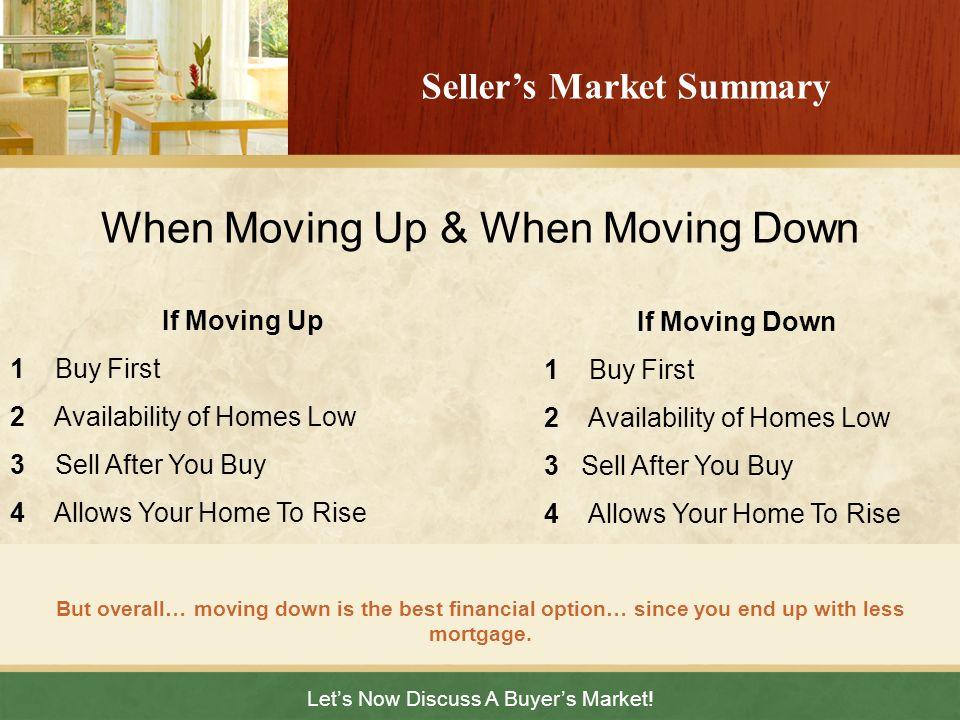 Seller's Market Summary