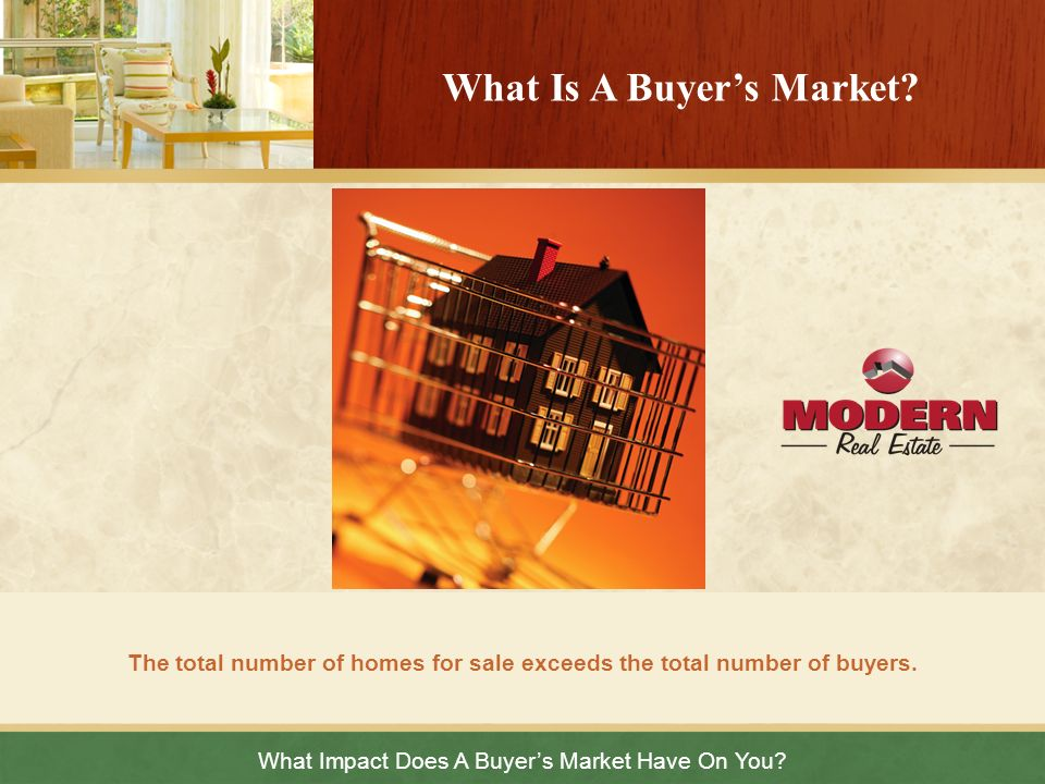 What Is A Buyer's Market