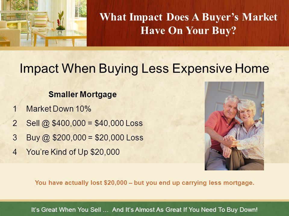 What Impact Does A Buyer's Market Have On Your Buy