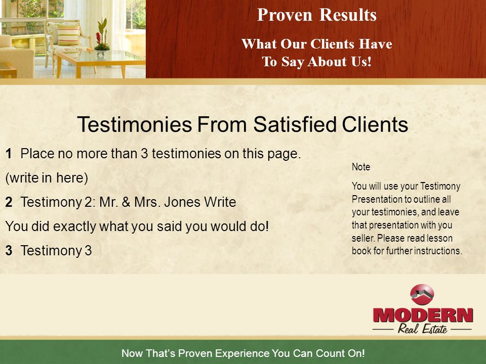 What Our Clients Have To Say About Us!