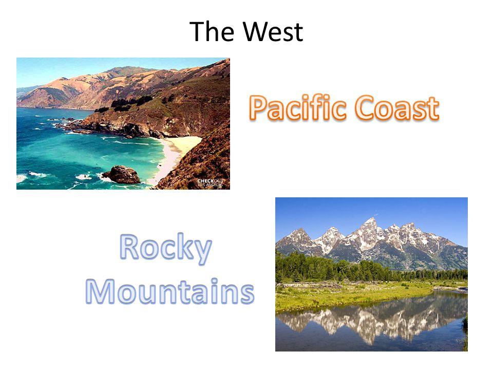Pacific Coast Rocky Mountains