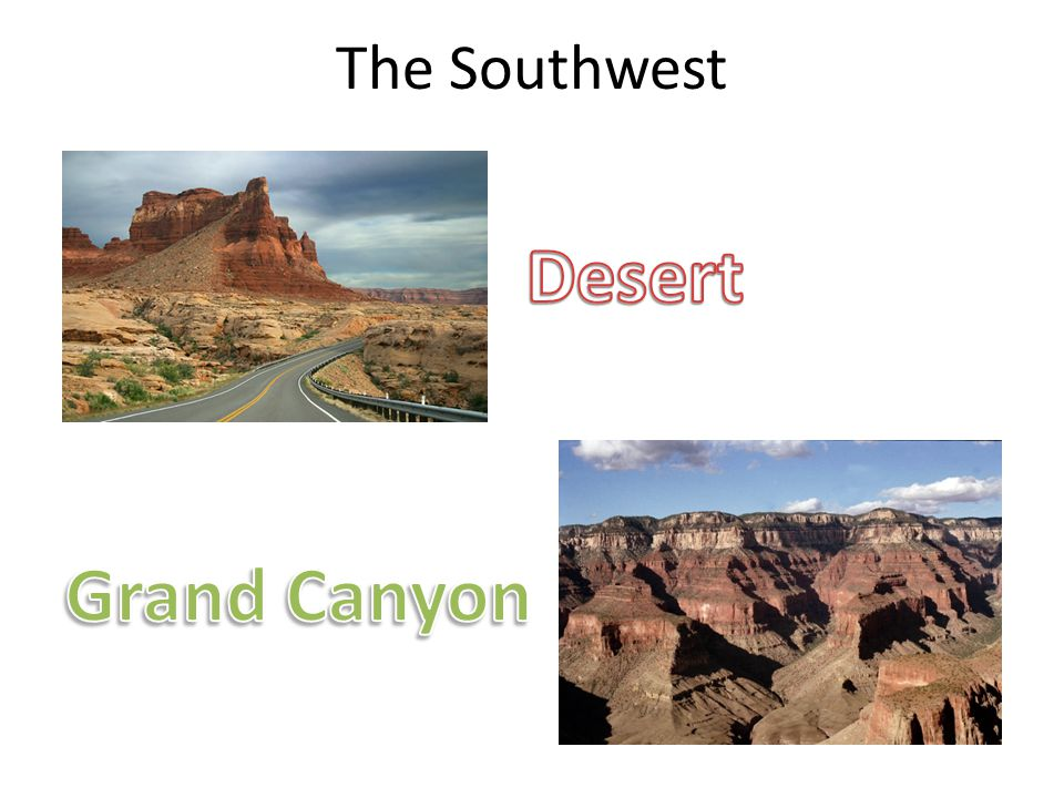 The Southwest Desert Grand Canyon