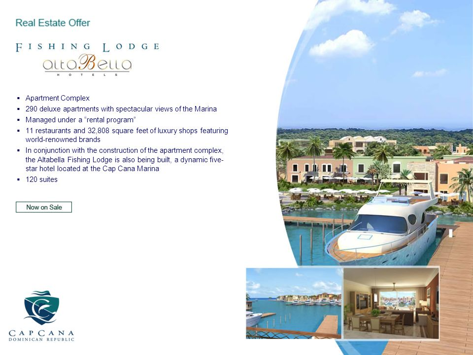 Apartment Complex290 deluxe apartments with spectacular views of the Marina. Managed under a rental program