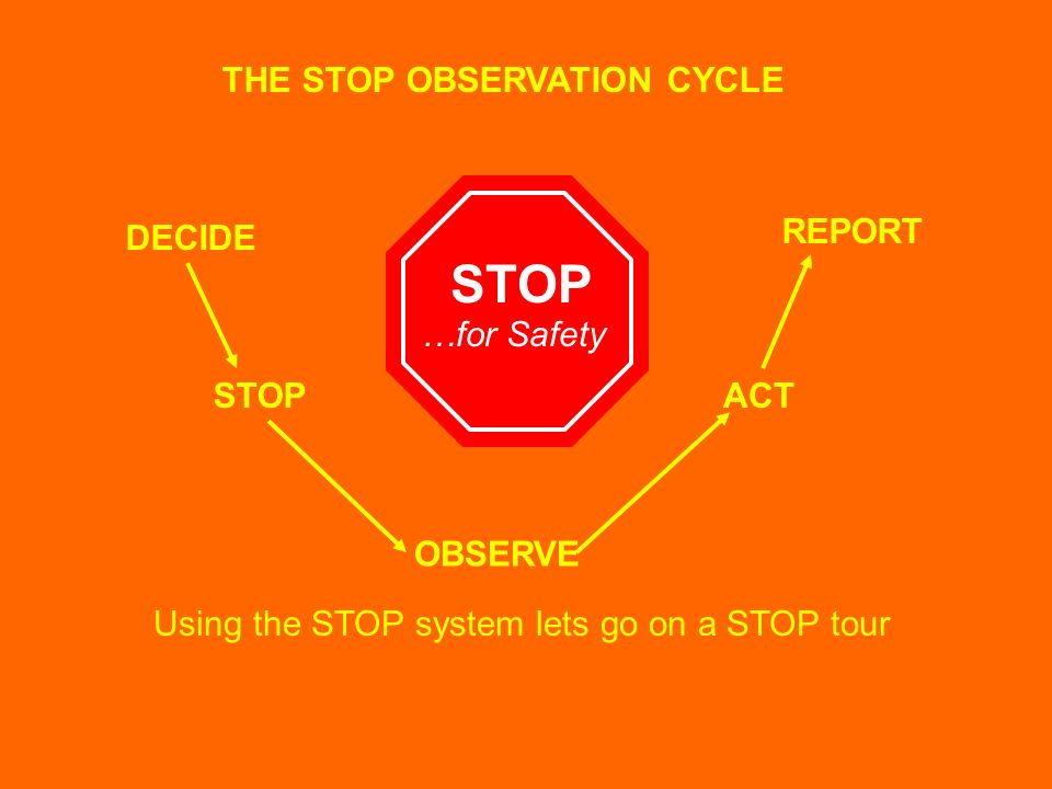 THE STOP OBSERVATION CYCLE