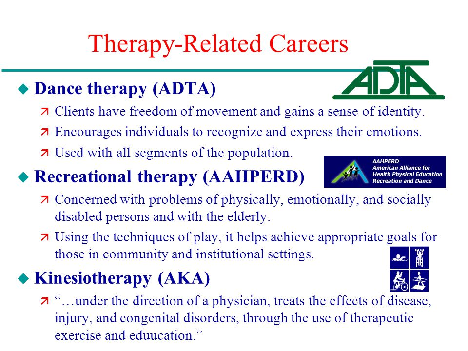 Therapy-Related Careers