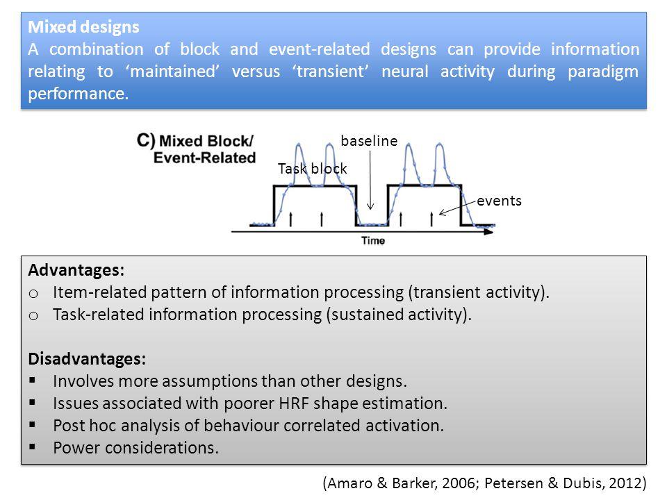 (Amaro & Barker, 2006; Petersen & Dubis, 2012)