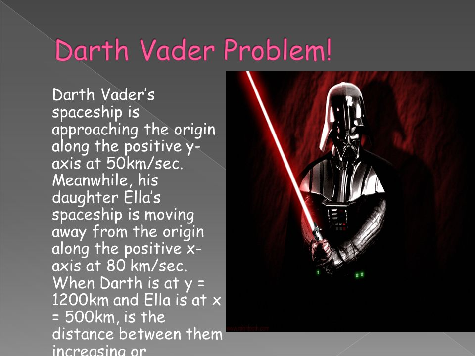 Darth Vader Problem!