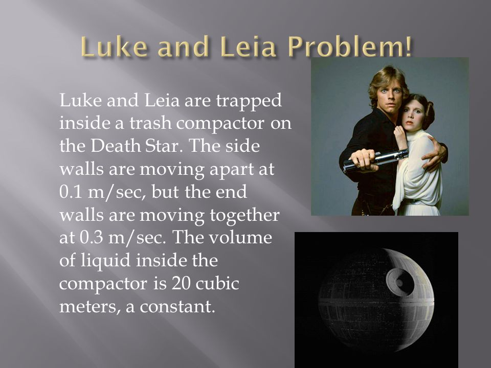 Luke and Leia Problem!