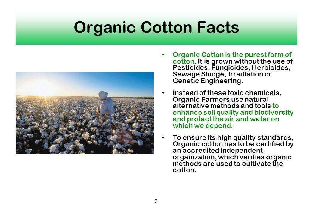 Organic Cotton Facts