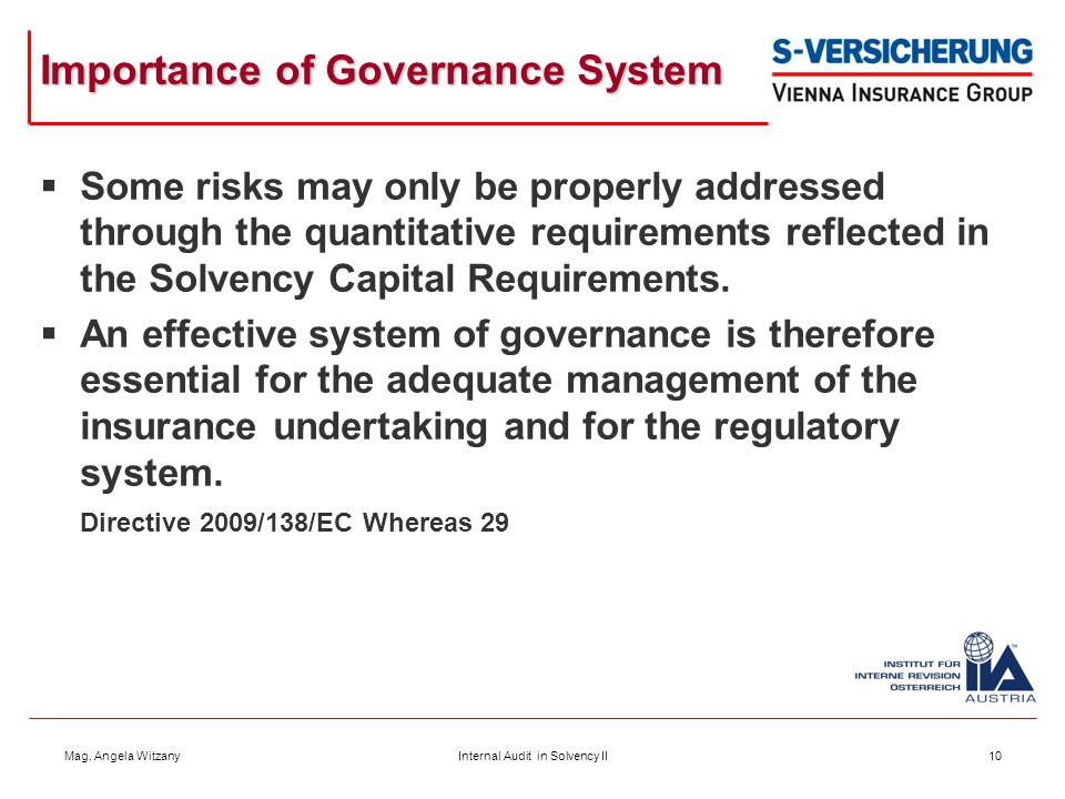 Importance of Governance System