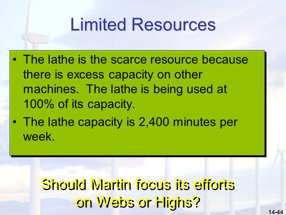 Should Martin focus its efforts