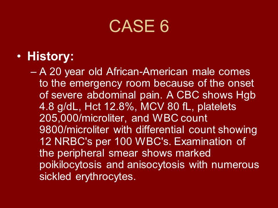CASE 6History: