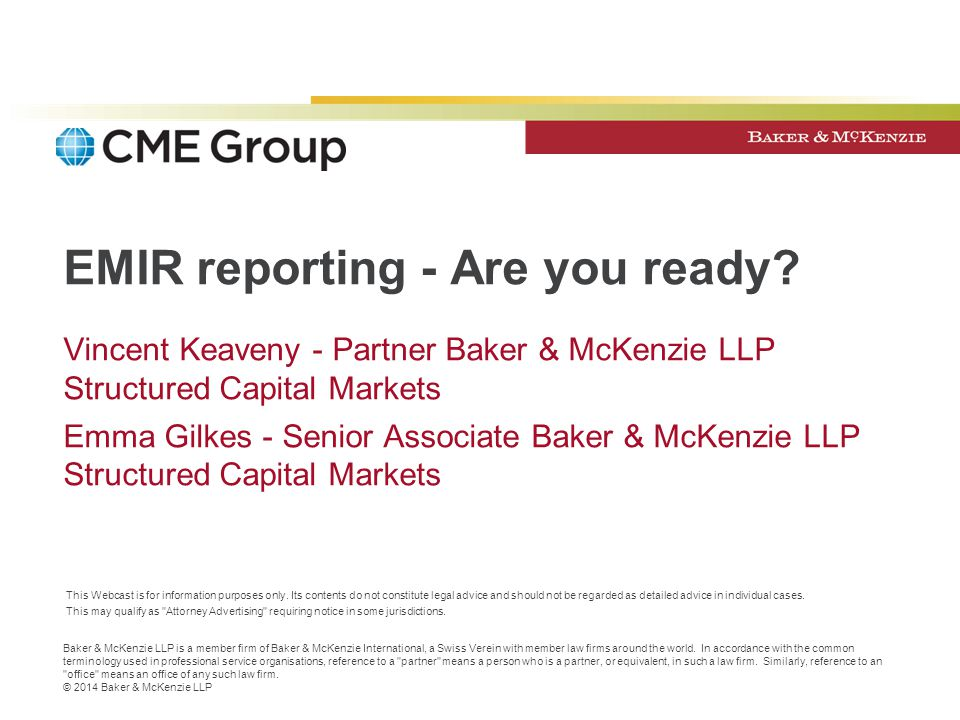 EMIR reporting - Are you ready
