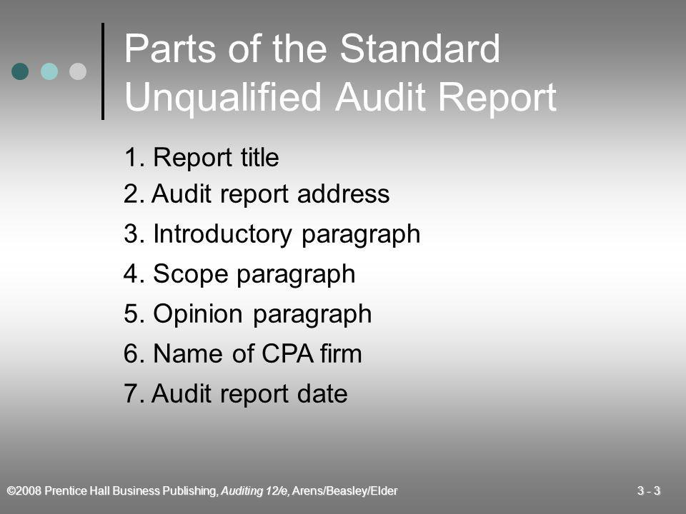 Audit Reports Chapter Ppt Video Online Download