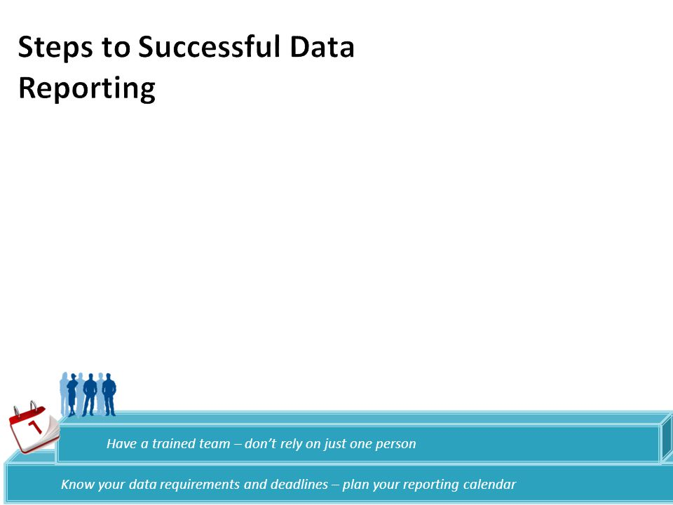Steps to Successful Data Reporting