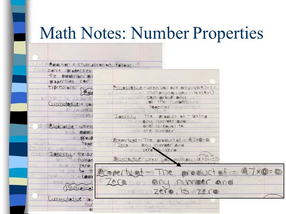 Math Notes: Number Properties