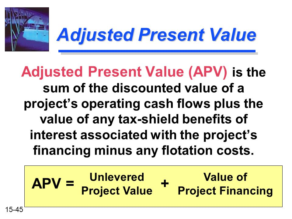 Adjusted Present Value