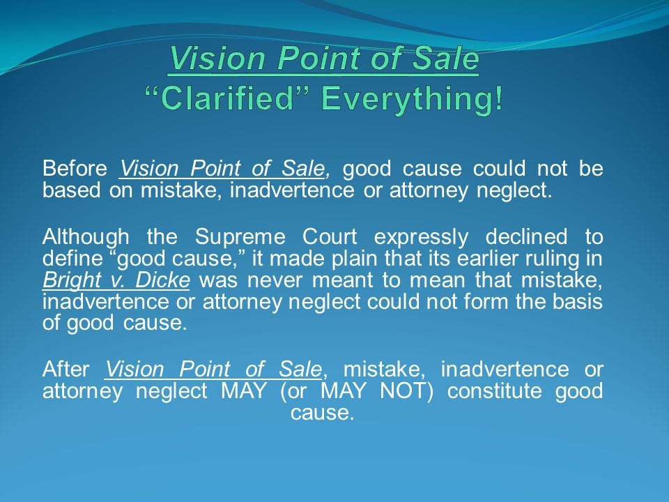 Vision Point of Sale Clarified Everything!
