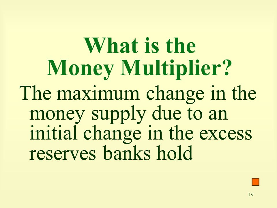 What is the Money Multiplier