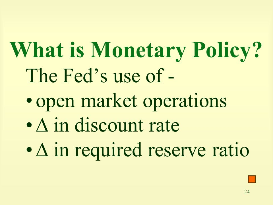 What is Monetary Policy