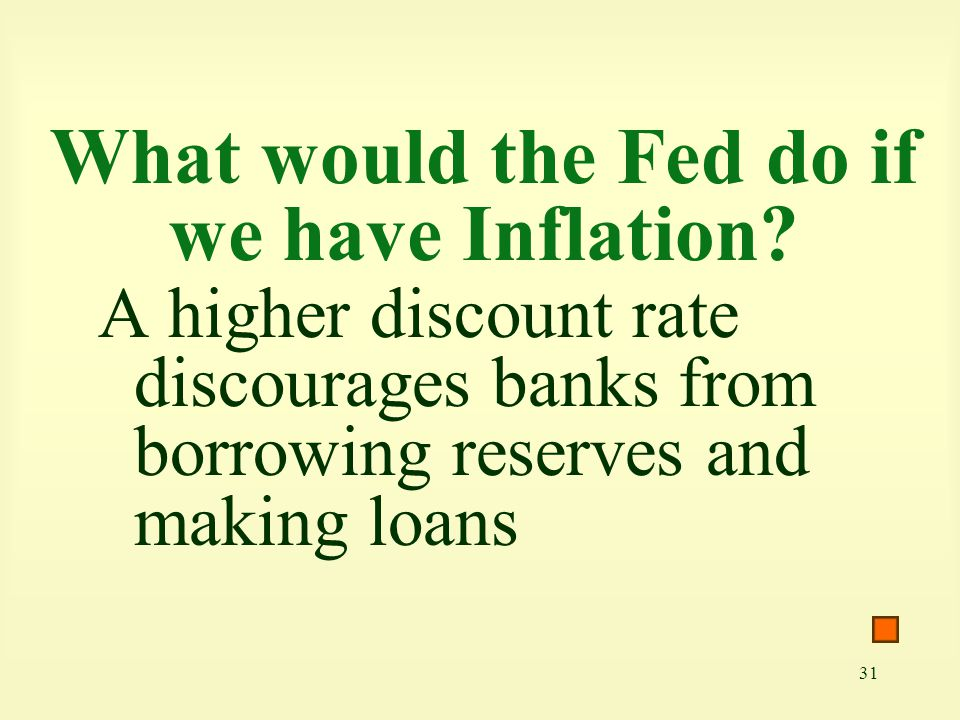 What would the Fed do if we have Inflation