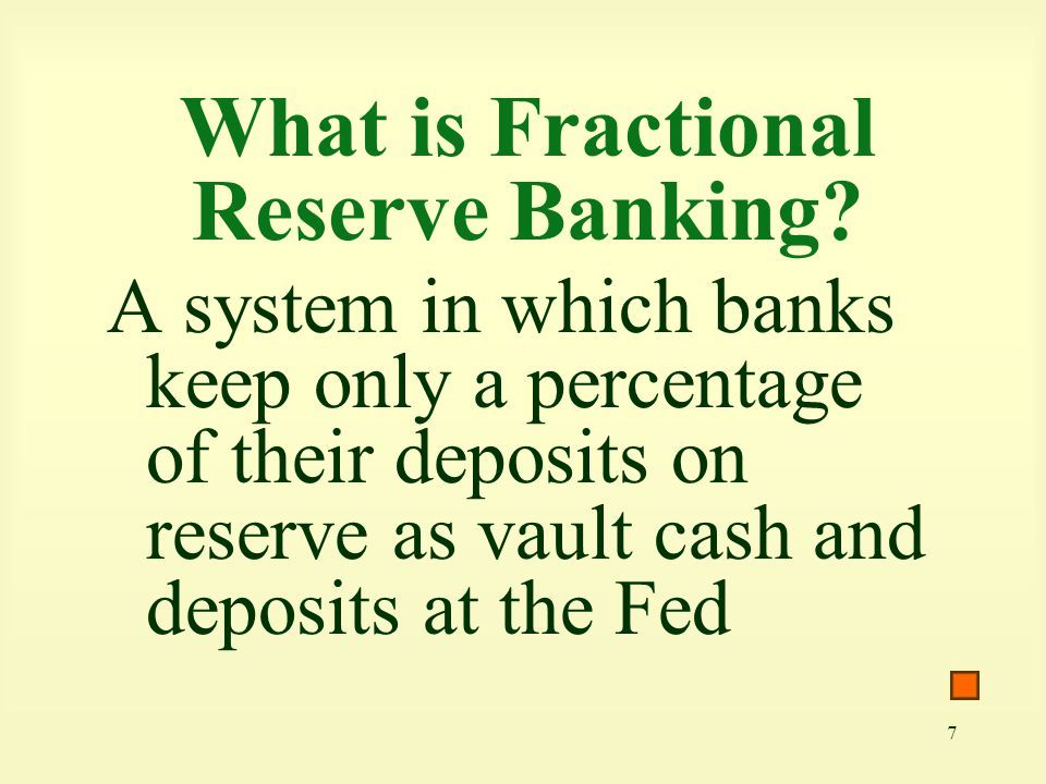 What is Fractional Reserve Banking