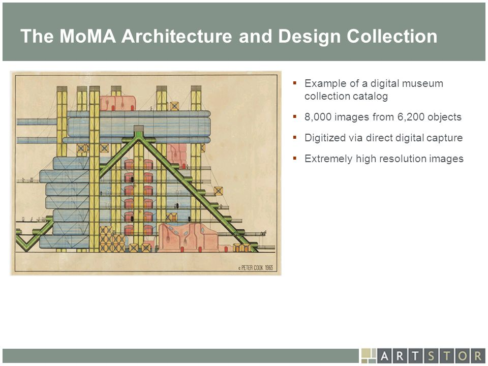 The MoMA Architecture and Design Collection