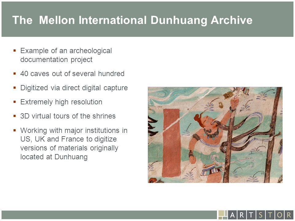 The Mellon International Dunhuang Archive