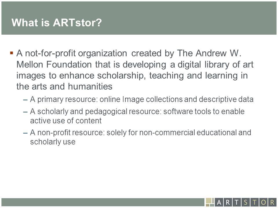 What is ARTstor