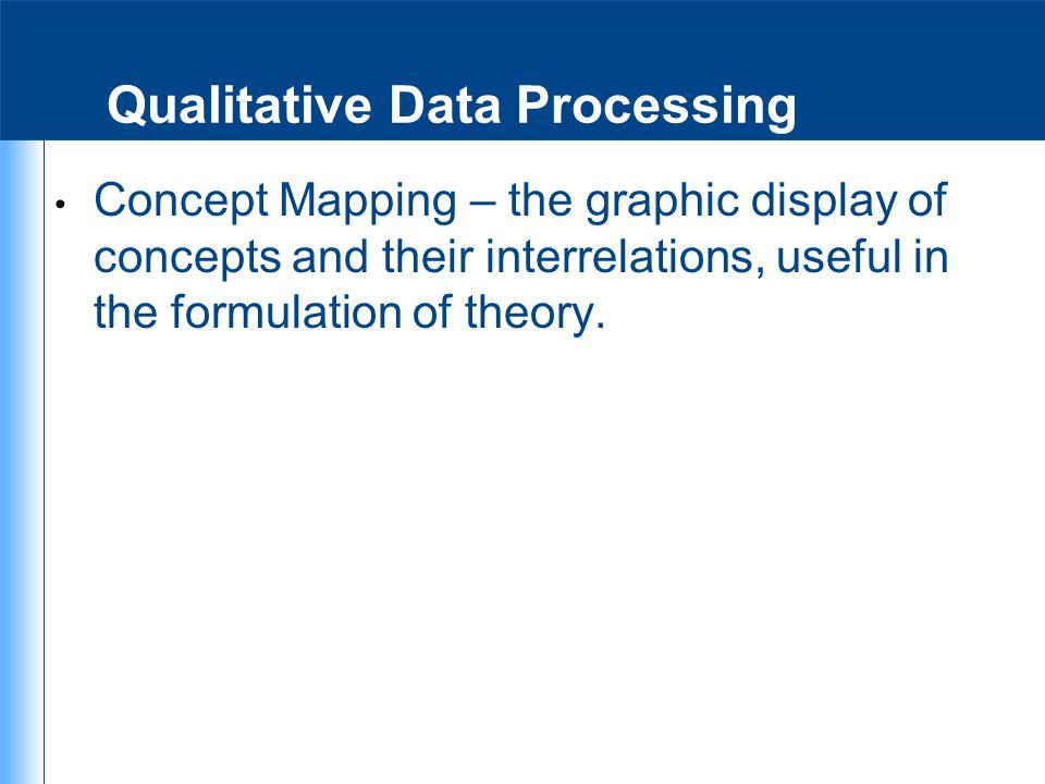 Qualitative Data Processing