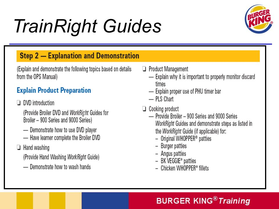 TrainRight Guides