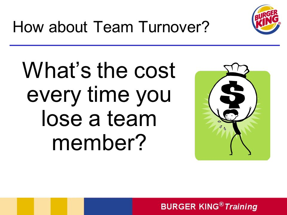 How about Team Turnover