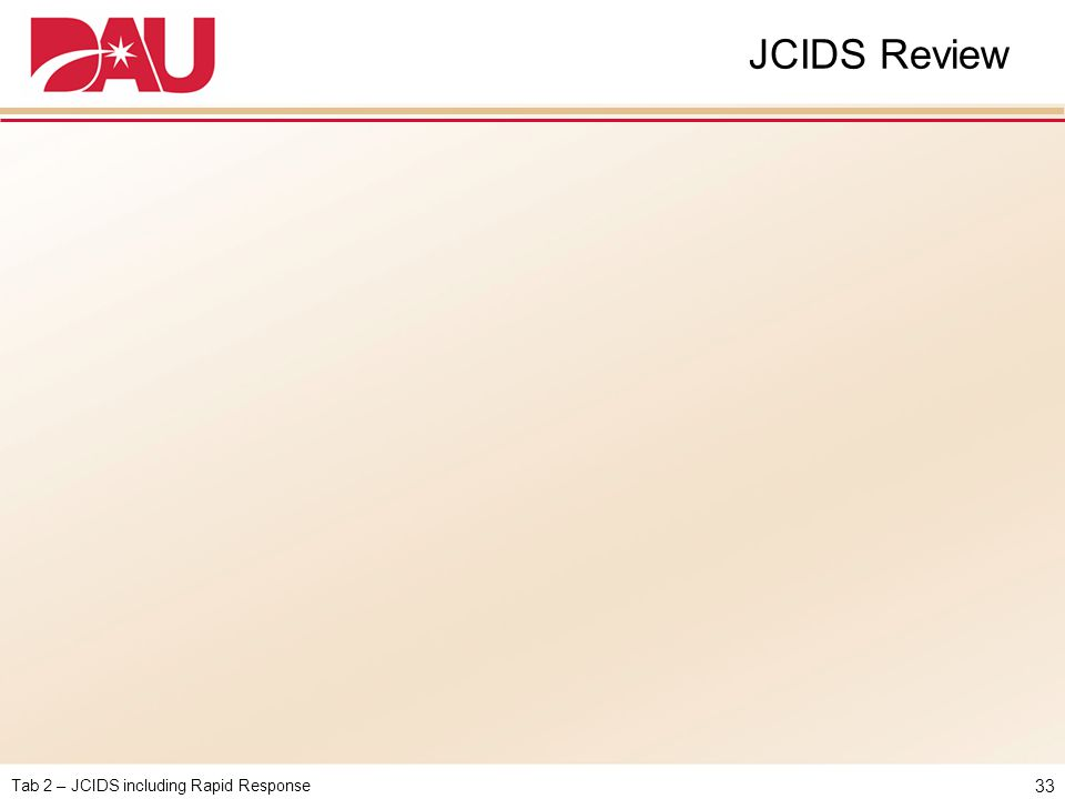 JCIDS Review