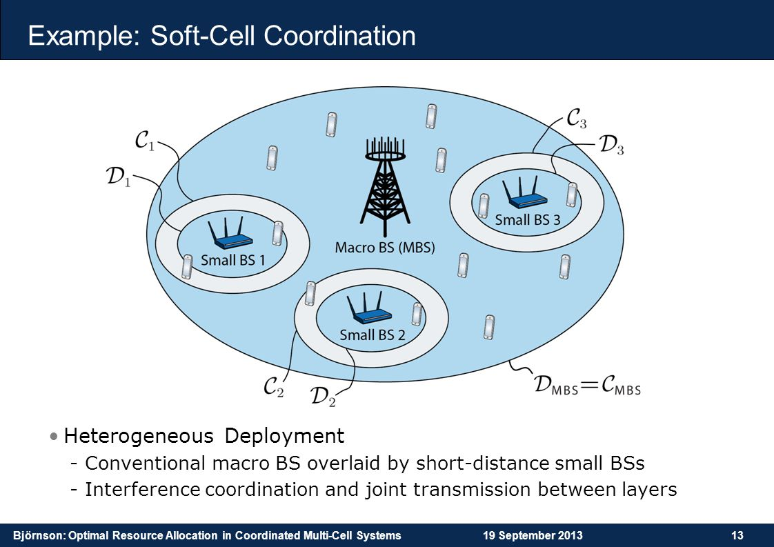 Example: Soft-Cell Coordination