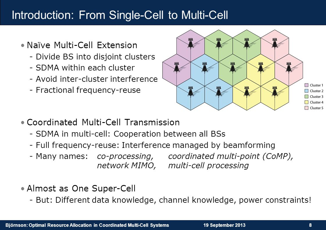 Introduction: From Single-Cell to Multi-Cell