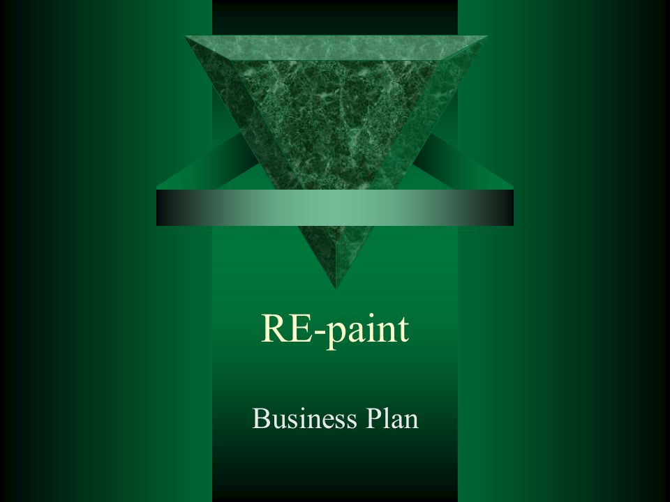 RE-paint Business Plan