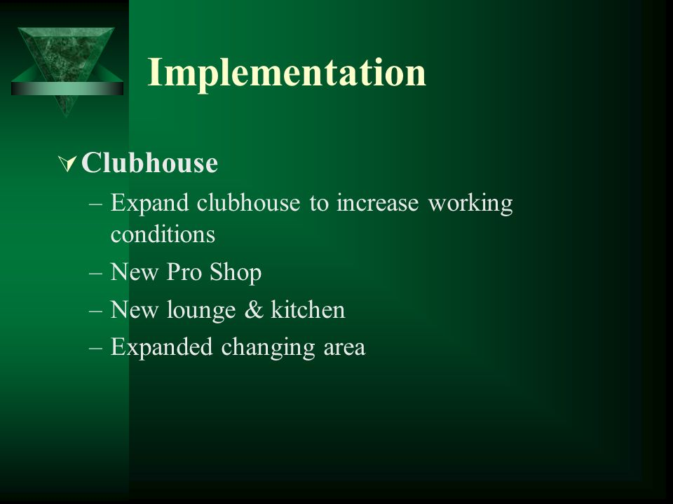 Implementation Clubhouse